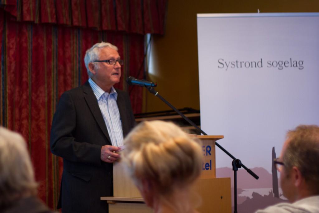 Steinar Velle snakka om Harald Hårfagre