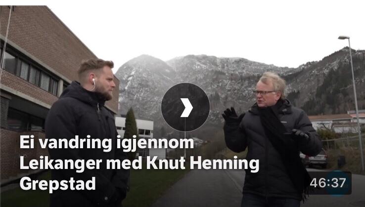 Skjermbilete NRK.no